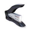 Compact yet heavy-duty die-cast metal stapler staples and tacks with a staple gun mechanism.