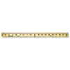 ACM10425 Wood Yardstick with Metal Ends, 36