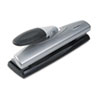SWI74030 20-Sheet Light Touch Desktop Two- or Three-Hole Punch, 9/32