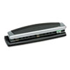 SWI74037 10-Sheet Precision Pro Desktop Two- and Three-Hole Punch, 9/32