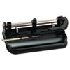 SWI74350 32-Sheet Lever Handle Two- to Seven-Hole Punch, 9/32