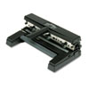 SWI74450 40-Sheet Two- to Four-Hole Adjustable Punch, 9/32