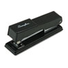 SWI78911 Compact Desk Stapler, 20-Sheet Capacity, Black SWI 78911