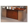 MLNSDTB72SCR Sorrento Series Veneer Bow Front Desk Top, 72w x 39d, Bourbon Cherry MLN SDTB72SCR