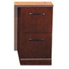 MLNSRFFSCR Sorrento Series File/File Pedestal for Return Top, Bourbon Cherry MLN SRFFSCR
