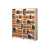 TNN128848PCSD Snap-Together Open Shelving Steel 7-Shelf Closed Starter Set, 48 x 12 x 88, Sand TNN 128848PCSD