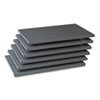 TNN6Q23624MGY Industrial Steel Shelving for 87 High Posts, 36w x 24d, Medium Gray, 6/Carton TNN 6Q23624MGY