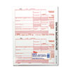 TOP22973 IRS Approved Tax Form, 5 1/2 x 8, Four-Part Carbonless, 75 Forms TOP 22973