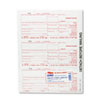 TOP22983 IRS Approved Tax Form, 3-2/3 x 8, Four-Part Carbonless, 75 Forms TOP 22983