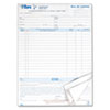 TOP3846 Bill of Lading,16-Line, 8-1/2 x 11, Three-Part Carbonless, 50 Forms TOP 3846