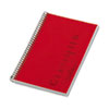TOP73505 Notebook w/Red Cover, Narrow Rule, 5-1/2 x 8-1/2, White, 100 Sheets/Pad TOP 73505