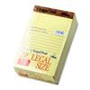 TOP7501 The Legal Pad Jr. Ruled Perforated Pads, 5 x 8, Canary, 50 Sheet Pads, 12/Pack TOP 7501