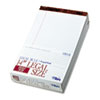 TOP7573 The Legal Pad Legal Rule Perforated Pads, 8-1/2 x 14, White, 50 Sht Pads, 12/Pk TOP 7573