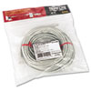 TRPN002050GY CAT5e Molded Patch Cable, 50 ft., Gray TRP N002050GY