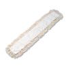 UNS1348 Industrial Dust Mop Head, Hygrade Cotton, 48w x 5d, White UNS 1348
