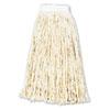 UNS216CCT Premium Cut-End Wet Mop Heads, Cotton, 16-oz., White, 12/Carton UNS 216CCT
