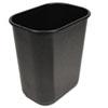 UNS28QTWBBLA Soft-Sided Wastebasket, 28 qt, Black UNS 28QTWBBLA