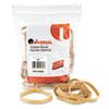 UNV00464 Rubber Bands, Size 64, 3-1/2 x 1/4, 80 Bands/1/4lb Pack UNV 00464