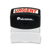 UNV10070 Message Stamp, URGENT, Pre-Inked/Re-Inkable, Red UNV 10070