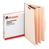 UNV10310 Manila Classification Folders, Legal, Six-Section, 15/Box UNV 10310