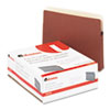 UNV15141 1 3/4 Inch Expanding File Pockets, Straight Tab, Letter, Redrope/Manila, 25/Box UNV 15141
