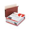 UNV15262 5 1/4 Inch Expansion File Pockets, Straight Tab, Letter, Redrope/Manila, 10/Box UNV 15262