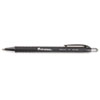 UNV15520 Comfort Grip Ballpoint Retractable Pen, Black Ink, Fine, Dozen UNV 15520