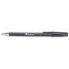 UNV15610 Comfort Grip Ballpoint Stick Pen, Black Ink, Medium, Dozen UNV 15610