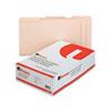 UNV16123 File Folders, 1/3 Cut Assorted, Two-Ply Top Tab, Legal, Manila, 100/Box UNV 16123