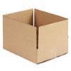UNV166534 Corrugated Kraft Fixed-Depth Shipping Carton, 10w x 12l x 3h, Brown, 25/Bundle UNV 166534