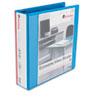 UNV20738 Economy D-Ring Vinyl View Binder, 2