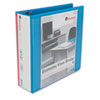 UNV20739 Economy D-Ring Vinyl View Binder, 3