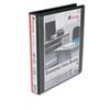 UNV20741 Economy D-Ring Vinyl View Binder, 1