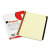 Universal® Preprinted Simulated Leather Tab Dividers with Gold Printing | www.SelectOfficeProducts.com