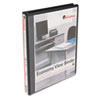 UNV20951 Round Ring Economy Vinyl View Binder, 1/2