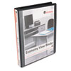 UNV20961 Round Ring Economy Vinyl View Binder, 1