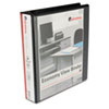 UNV20971 Round Ring Economy Vinyl View Binder, 1-1/2