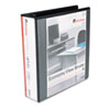 UNV20981 Round Ring Economy Vinyl View Binder, 2