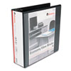 UNV20991 Round Ring Economy Vinyl View Binder, 3