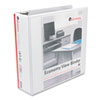 UNV20992 Round Ring Economy Vinyl View Binder, 3