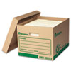 UNV282234 Recycled Record Storage Box, Letter/Legal, 12 x 15 x 10, Kraft, 4/Carton UNV 282234