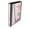 UNV30711 Comfort Grip Deluxe Plus D-Ring View Binder, 1