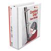 UNV30752 Comfort Grip Deluxe Plus D-Ring View Binder, 3