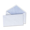 UNV35204 Security V-Flap Envelope, 3 5/8 x 6 1/2, White, 250/Box UNV 35204