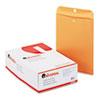 UNV35265 Kraft Clasp Envelope, Side Seam, 28lb, 9 1/2 x 12 1/2, Light Brown, 100/Box UNV 35265