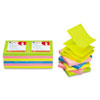 Universal® Fan-Folded Self-Stick Neon Color Pop-Up Note Pads | www.SelectOfficeProducts.com