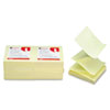Universal® Fan-Folded Self-Stick Yellow Pop-Up Note Pads | www.SelectOfficeProducts.com
