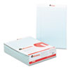 UNV35880 Colored Perforated Note Pads, 8-1/2 x 11, Blue, 50-Sheet, Dozen UNV 35880