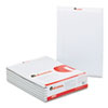 UNV35881 Colored Perforated Note Pads, 8-1/2 x 11, Gray, 50-Sheet, Dozen UNV 35881
