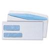 UNV36301 Double Window Business Envelope, #9, White, 500/Box UNV 36301